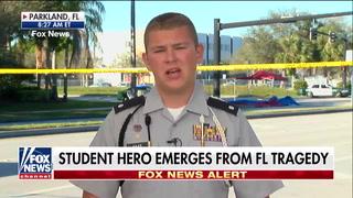 Florida shooting victim and JROTC member says we need armed teachers