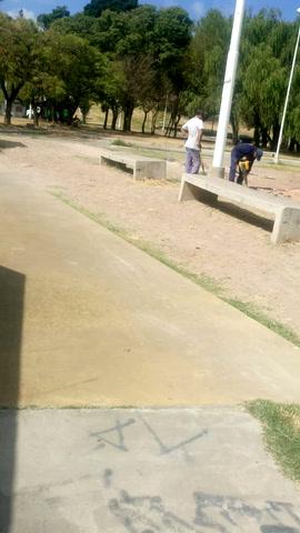 Continúa a buen ritmo la obra en construcción que está pegada al skatepark de Paraná