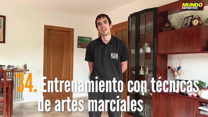 ENTRENA EN CASA (34): Entrenamiento con técnicas de artes marciales