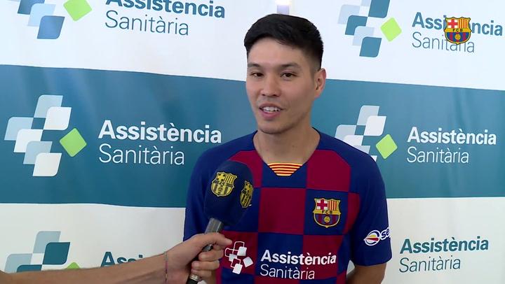 Daniel, refuerzo de luxe para el Barça de fútbol sala