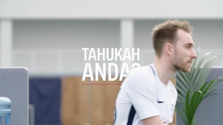 Christian Eriksen: Tangga