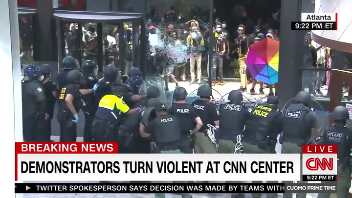 CNN's Valencia While Reporting in Atlanta: 'No Story' Worth Your Life, I Want to Be Able to See My Family