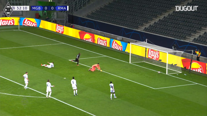 Marcus Thuram scores twice against Real Madrid