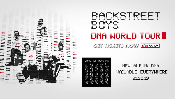 Backstreet Boys Artist Exclusive Confessional Dna World Tour