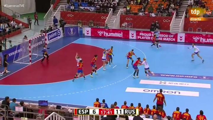 España sucumbe ante Rusia pero se meten en semifinales del Mundial gracias a Montenegro