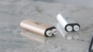 The Verge Wireless Earbuds and Power Bank
