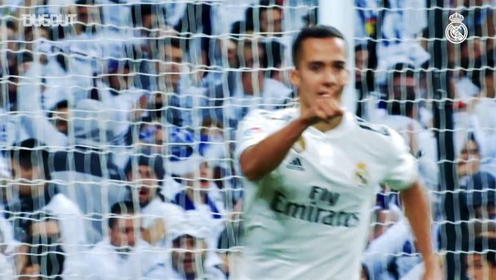 Primer gol con Real Madrid: Davor Suker y Lucas Vázquez