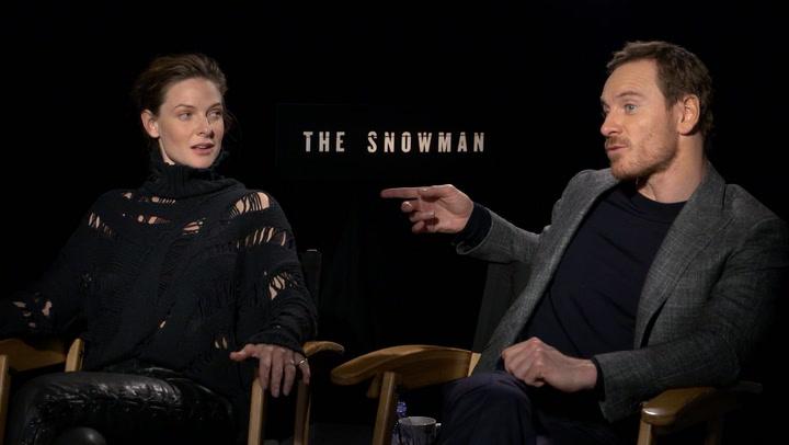 Michael Fassbender & Rebecca Ferguson On What Drew Them To 'The Snowman'