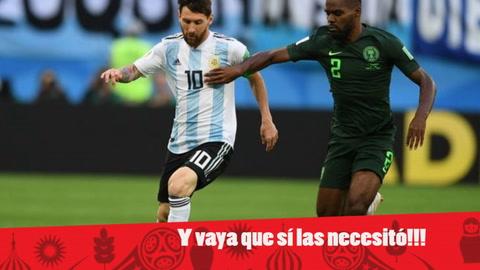 EHmojicrónica: Argentina sufre pero logra objetivo de clasificar a octavos