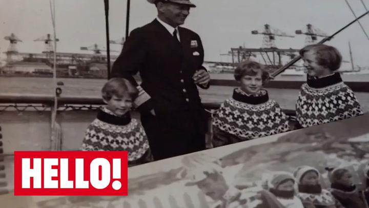 Royal family begin Christmas decorations at the Palace