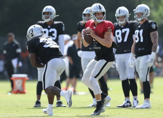 Raiders Training Camp LA Rams first joint practice – VIDEO