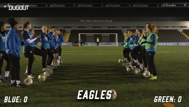 Crystal Palace Women American penalty challenge