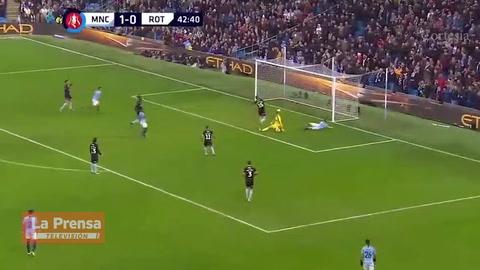 Manchester City 7-0 al Rotherham United por la FA Cup.
