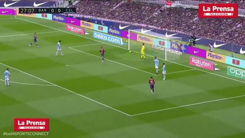 Barcelona 1-2 Celta de Vigo (Liga Española)