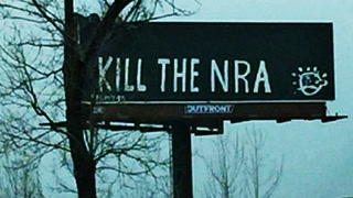 'Kill the NRA' billboard by anti-Trump group appears in Louisville
