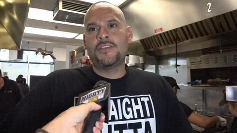 Victor Lopez on free taco giveaway after every Chargers loss