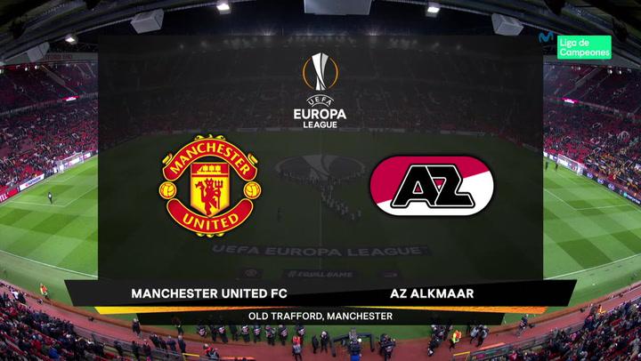 Europa League Resumen y Goles del Manchester United-AZ Alkmaar