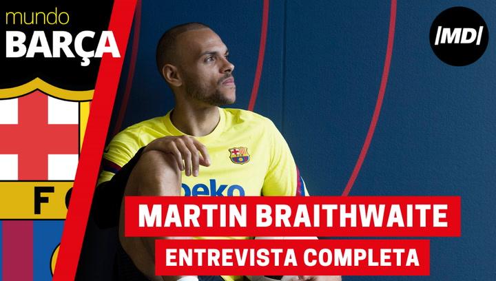 Entrevista completa a Martin Braithwaite