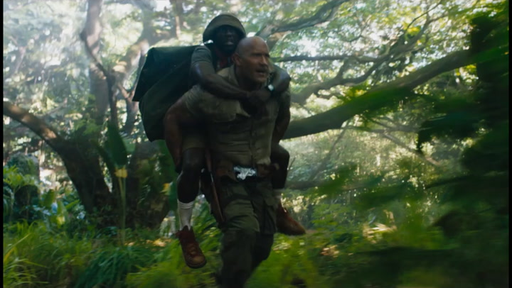 'Jumanji: Welcome to the Jungle' Trailer 2 (2017)