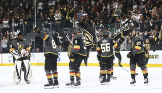Golden Edge: Knights Prepare For Game Six