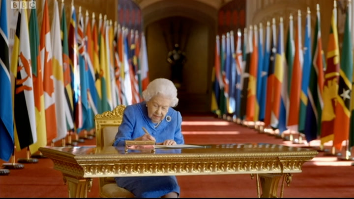 The Queen talks about the importance of future relationships in the Commonwealth