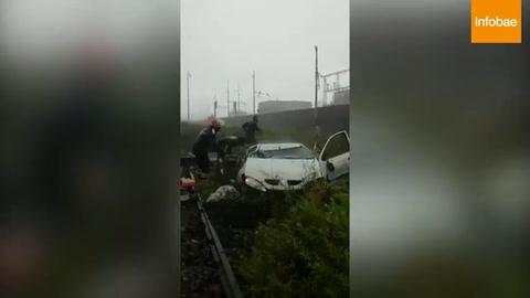 Los videos del momento en que se desplomó el puente de Génova
