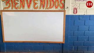 Escuela presenta graves problemas estructurales en la colonia Canaán