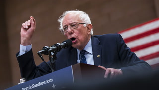 Bernie Sanders visits Las Vegas
