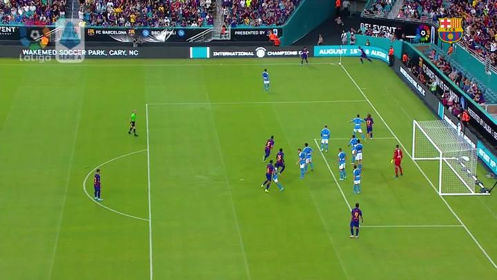El resumen del Barça-Nápoles