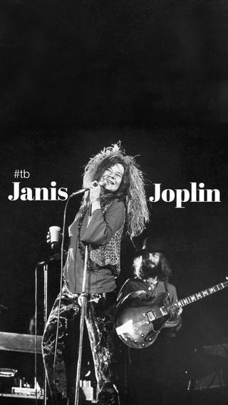 Bugün günlerden Janis Joplin