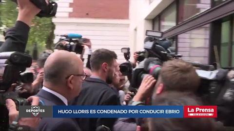 Hugo Lloris es condenado por conducir ebrio