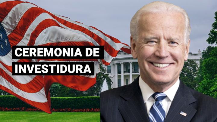 Estados Unidos: así será la ceremonia de investidura de Joe Biden