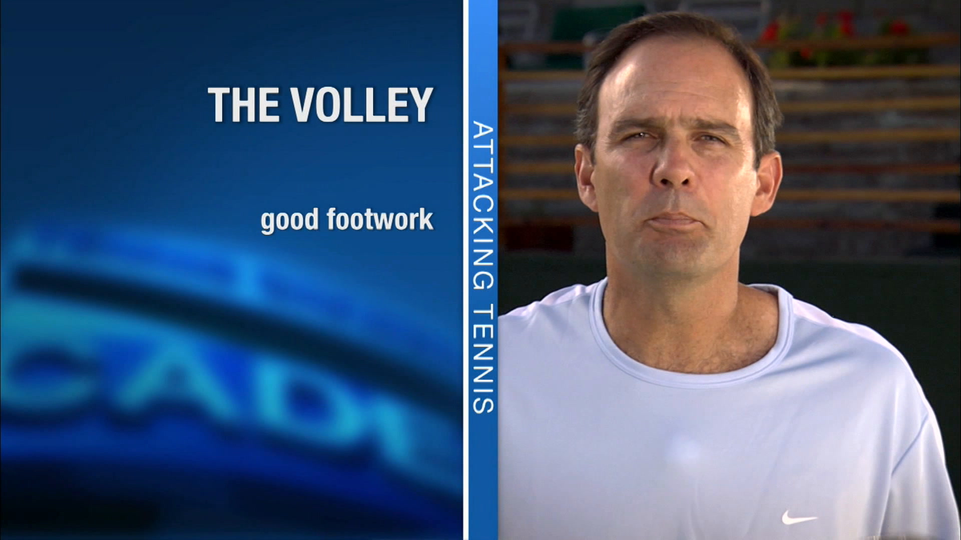 Annacone unveils the keys to better volleys