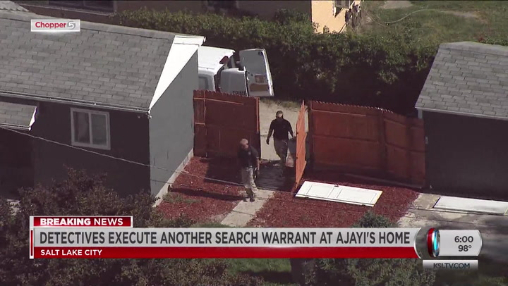 Police Serve Another Search Warrant At Murder Suspect's Home
