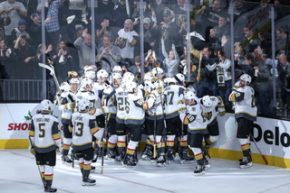 Golden Edge: Knights Beat Coyotes In Overtime