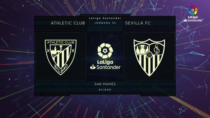 LaLiga (J35): Resumen y goles del Athletic 1-2 Sevilla