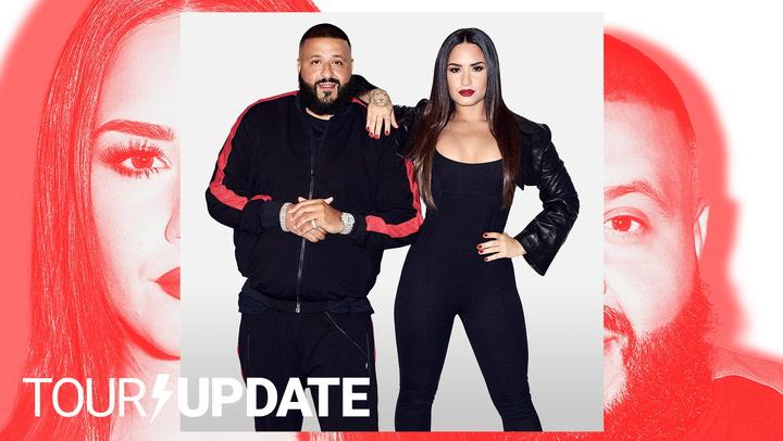 Tour Update : Demi Lovato Reveals Headlining Tour with DJ Khaled