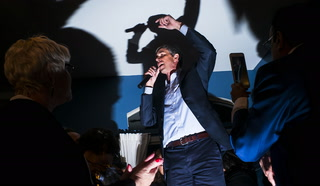 Beto O'Rourke House Party in Las Vegas