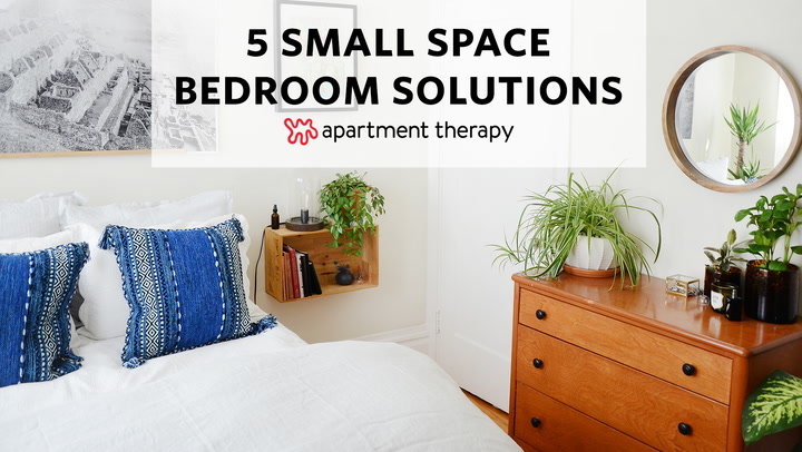 5 Small Space Bedroom Solutions