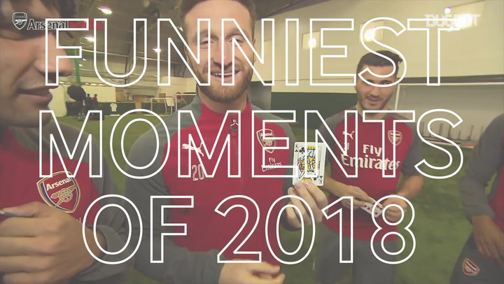 Arsenal's Funniest Moments of 2018