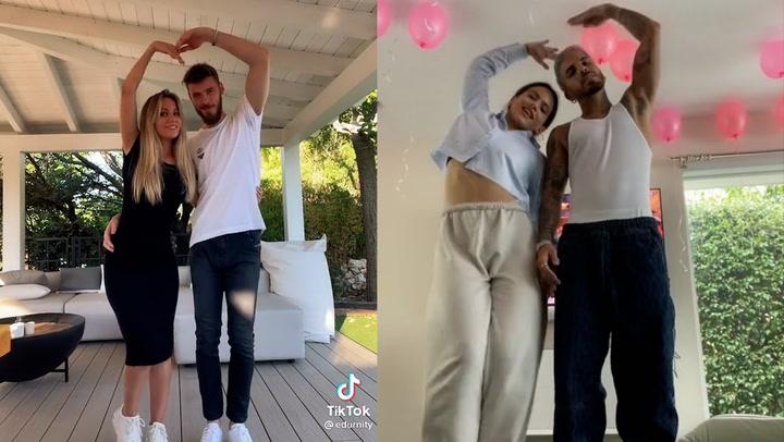 Edurne y De Gea se atreven con el baile de moda: aquel que hizo Rosalía cuando confirmó su relación con Rauw Alejandro