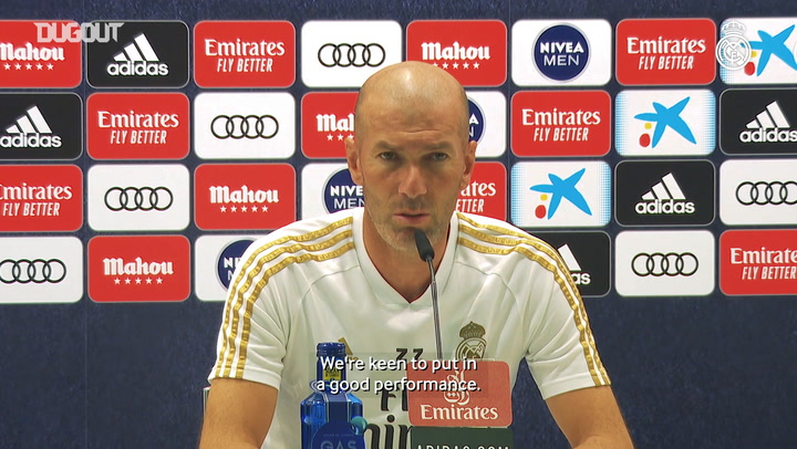 Zidane: 'We have to continue on in the same vein'