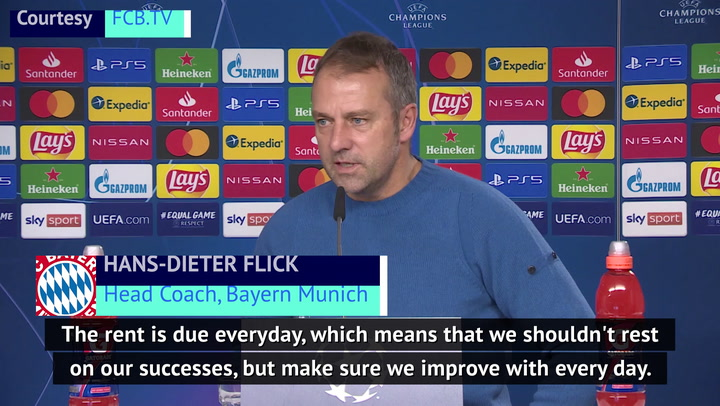 Bayern not resting on success - Flick