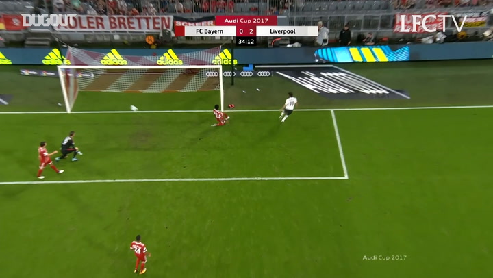 Salah doubles Liverpool's lead vs Bayern