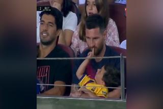 El ''jueguito'' de Messi con Mateo durante la goleada del Barcelona al Betis