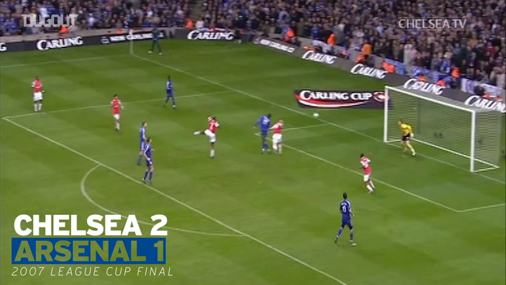 Chelsea's victories in finals against Arsenal