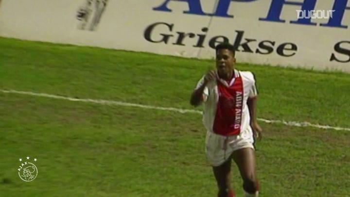 Melhores momentos de Patrick Kluivert pelo Ajax