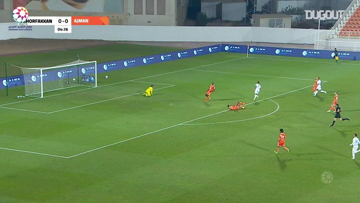Highlights: Ajman 1-2 Khorfakkan