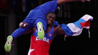 El luchador cubano Mijaín López se instala en el Olimpo junto a Lewis, Phelps y Oerter