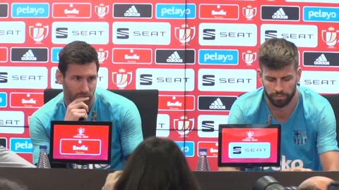 Messi confiesa que sufrió un golpe